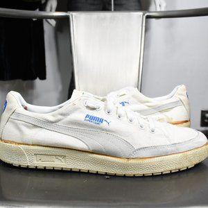 vintage Puma super court sneakers 12.5 80's